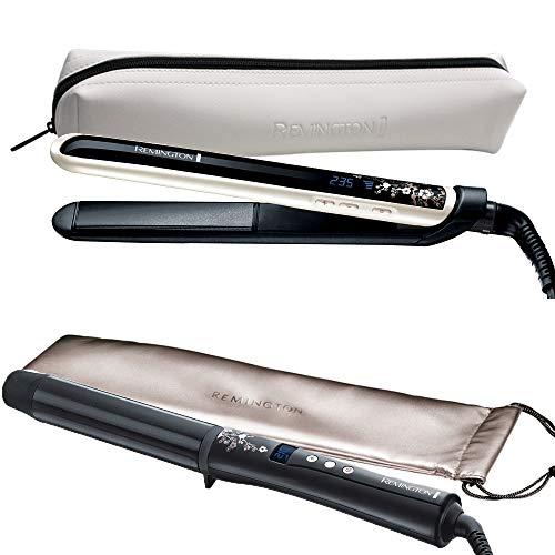 Remington Styling Set Pearl + Lockenstab CI9532: Haarglätter + Lockenstab 32mm