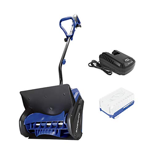 Snow Joe 24V-SS13 24-Volt iON+ 13-Inch 4-Ah Cordless Snow Shovel, Kit (w/4-Ah Battery + Quick Charger)