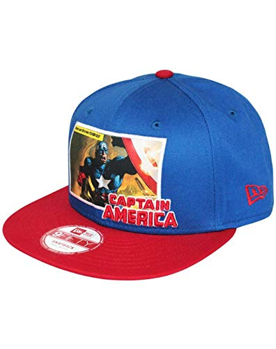New Era 9Fifty Comic Panel Captain America Snapback Cap