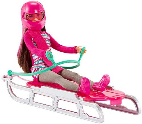 Mattel Barbie Sisters' Sledding Fun