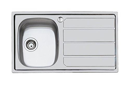 Foster S1000 Lavello, Metallo, Spazzolato, 86x50x17 cm
