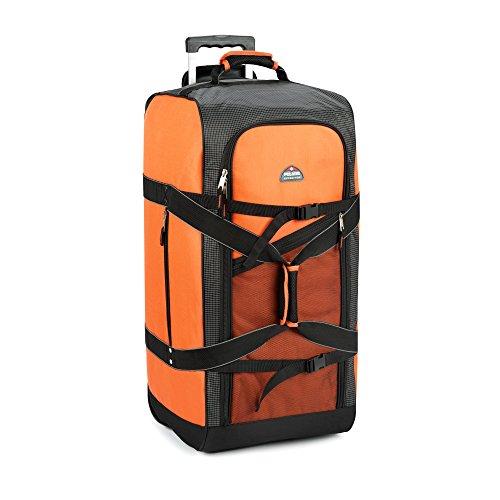 "Achim Home Furnishings, Orange Imports Polaris 30"" Mega Wheeled Duffel Bag"