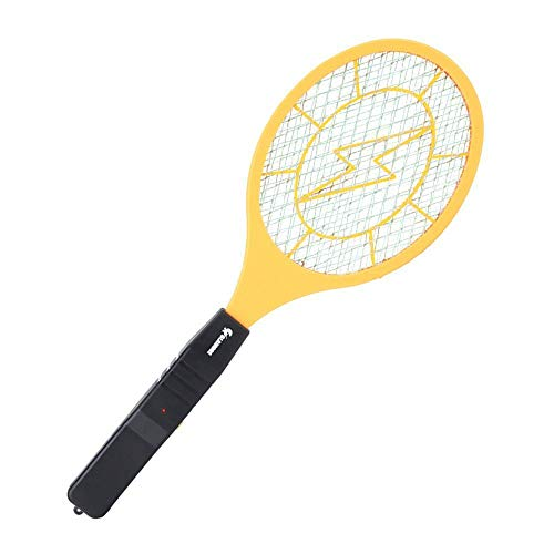 Souxe Rechargeable Mosquito Racket/BAT/Fly Swatters (Yellow Color)