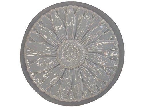 Daisy Flower Concrete Plaster Stepping Stone Mold 1036