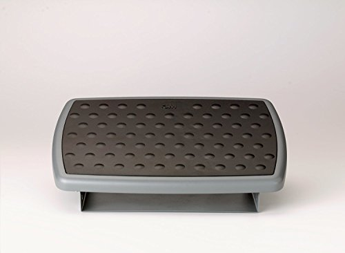 3M Adjustable Foot Rest, 18 inches (Grey)