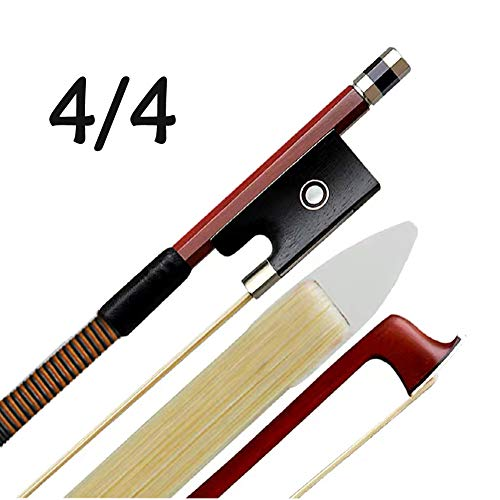 Violin Bow 4/4 Brazilwood with Horse Hair Full 4/4 Size