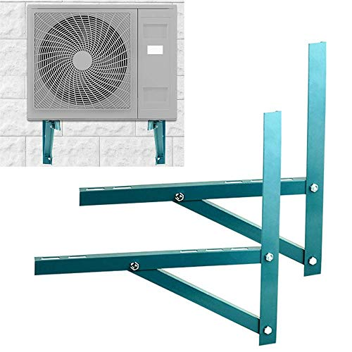 Wall Mounting For Ductless Air Conditioner Condensing Heat Pump Systems, Universal Condenser, Support Up To 260kg