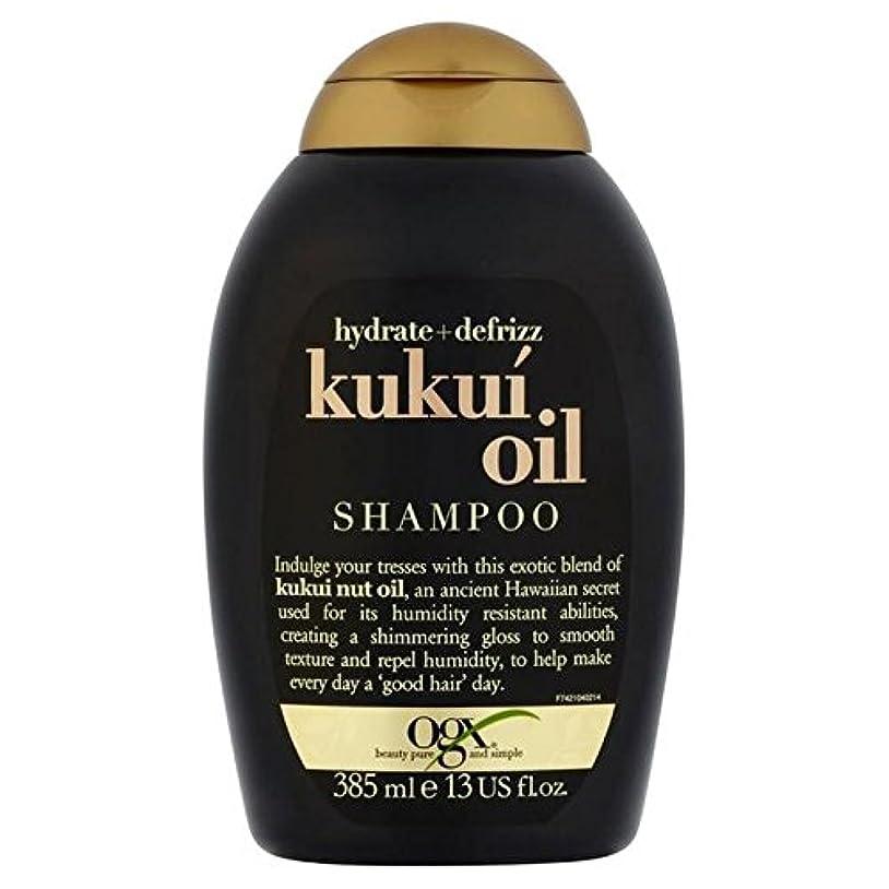 第五ピットアクセスできないOgx Defrizz Kukui Oil Shampoo 385ml (Pack of 6) - ククイオイルシャンプー385ミリリットル x6 [並行輸入品]