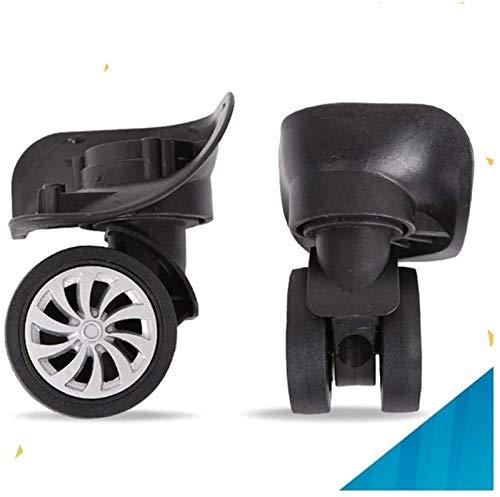 XZGDEN Superior 4 piezas maleta de equipaje ruedas de repuesto giratorio rueda universal durable echador componentes móviles
