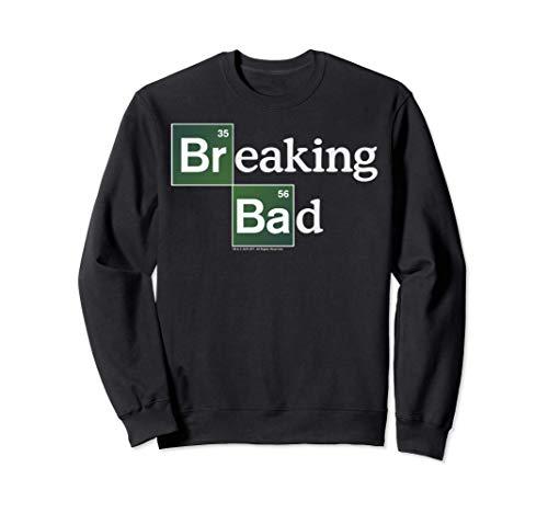 Breaking Bad Periodic Square Logo Felpa