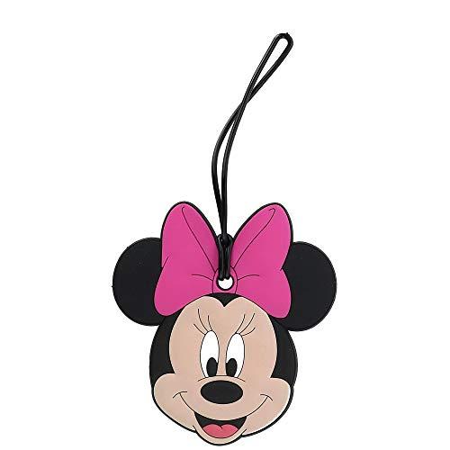 Disney Minnie Mouse Face Travel Luggage ID Tag, Black