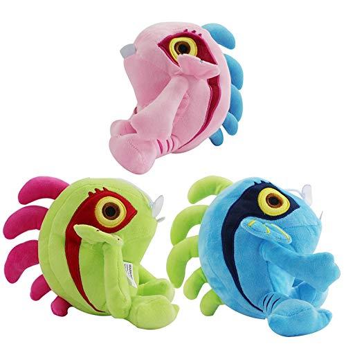 jgzwl Plüschtier23cm 3 Arten Murloc Plüsch Spielzeug Kuscheltiere Nette Fische Weichen Puppen Kinder Geschenke