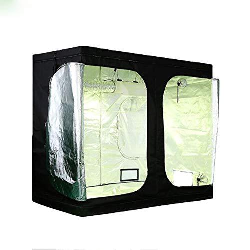 GJR-Zhiwushengzhang 300 x 150 x 200 cm 600D Grow Caja de la Tienda hidrocultivo Tent Grow Piezas de la luz Interior del hidrocultivo Cultivo Tent Tent Plant Cubierta