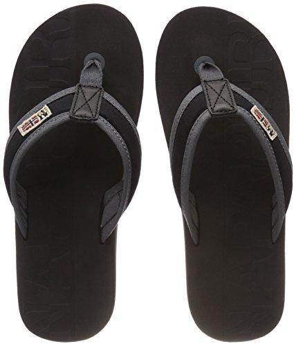 Napapijri Footwear Herren Toledo Zehentrenner, Schwarz (Black), 40 EU