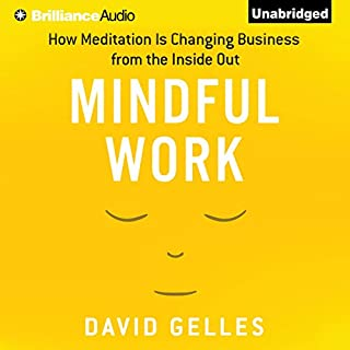 Mindful Work audiobook cover art