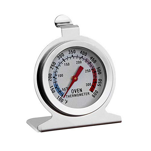 Leeofty im OfenThermometer Mini Ofengrill Fry Chef Raucher Thermometer Sofort lesen Edelstahlthermometer Küchenkochthermometer zum Grillen(1/2/4 Stücke)