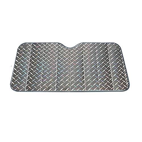 Qingxin Parasol universal para parabrisas de coche, portátil, plegable, resistente al sol, protección UV, accesorios para el verano