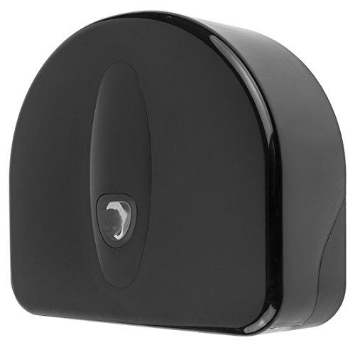 PlastiQline 2020 Großrollenspender Maxi - abschließbar - schwarz - max. Ø 310 mm