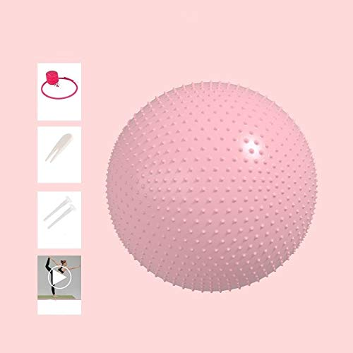 A prueba de explosiones engrosada Yoga de la bola Pelota de ejercicio, 65cm 75cm bola de yoga, anti-explosión del tipo de bola de masaje Ball Balance for la terapia de Pilates Parto terapia física sil
