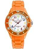 Alienwork Kids Reloj de Aprendizaje Infantil Niña Naranja...