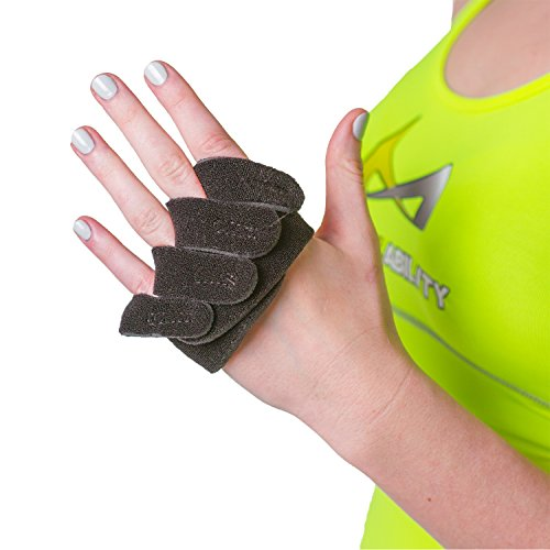 BraceAbility Ulnar Deviation & Drift Hand Splint | MCP Knuckle Joint Support Brace for Rheumatoid Arthritis & Tendonitis Pain Relief, Finger Straightener & Stretcher Glove - L (MED/LGE) Left