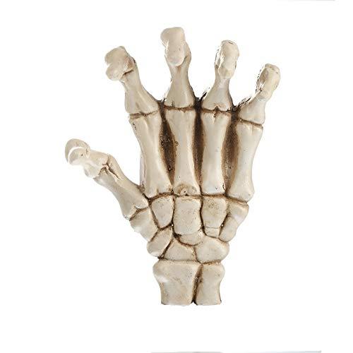 LBYLYH - Estatua decorativa para el hogar, figuras de resina para decoración de calavera humana modelo huesos accesorios de Halloween