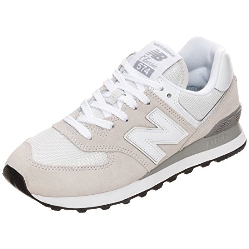 New Balance Damen 574v2 Core Low-Top, Weiß (White), 39 EU