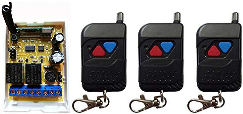 DC12V DC24V 2CH RF Wireless Control Switch Security System