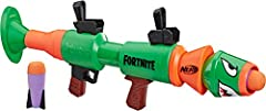 Rocket firing Fortnite blaster replica: this Nerf Fortnite RL blaster is inspired by the blaster used in the popular Fortnite video game that fires foam rockets Bring the action into real life: Take the Fortnite action into real life with this rocket...
