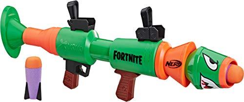 Hasbro Nerf Fortnite RL Blaster - Fires Foam Rockets - Includes 2 Official Nerf Fortnite Rockets - for Youth, Teens,...