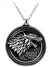 Stark Family Pendant Necklace Of Game Of Thrones