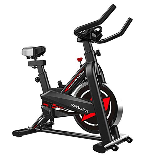 Indoor Exercise Bike,Professional Indoor Cycling Bike,Sporting Equipment Stationary with LCD Monitor,Handlebars and Seat Adjustable,Fitness Bike
