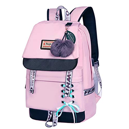 Asge Femme Sac à Dos Unisexe Loisir Backpack Garçons...