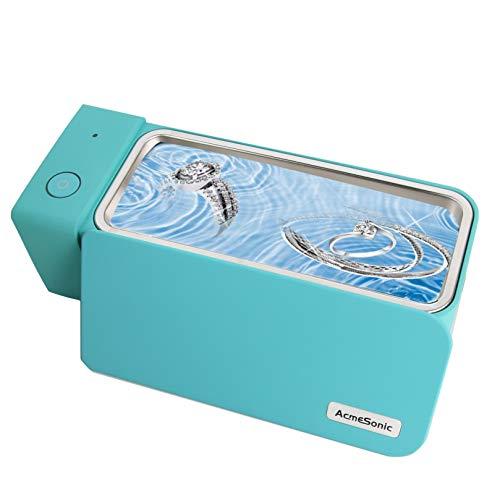超音波洗浄機 眼鏡洗浄機 小型家用超音波洗浄器 超音波クリーナー 600 mlの容 50,000Hz 強力振動 可能洗浄メガネ 貴金属 アクセサリー シェーバー