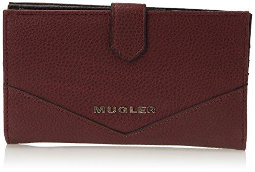 Thierry Mugler Damen Royal Pm1 Geldbörsen, Rot (Rouge (Bordeaux 1K33), onesize