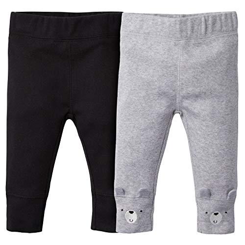 Gerber - Pantalones para bebé (2 Unidades), Hello Bear, 12 Meses