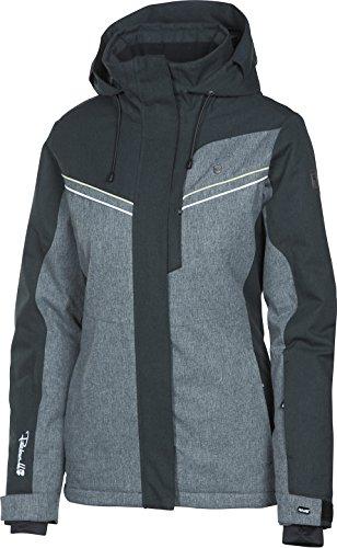 Rehall Curve-R Snowjacket Damen-Skijacke 88228 - Black Melange Gr. L