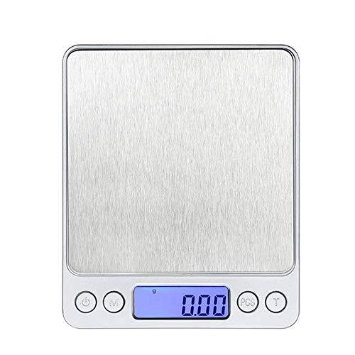 L.TSA Detección de Peso Básculas Digitales de Cocina Básculas electrónicas portátiles Peso