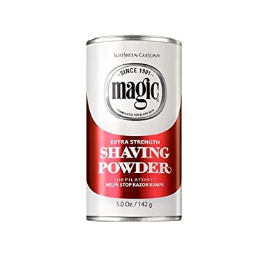 Magic Shave 142 g Extra Strength Shaving Powder by Soft Sheen Carson