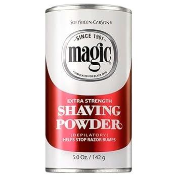 Amazon Com Magic Red Shaving Powder 5 0 Oz Extra Strength Depilatory Beauty