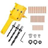 Handheld Dowel Jig Kit Woodworking...