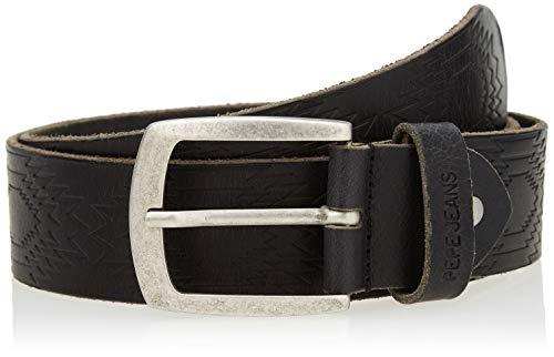 Pepe Jeans Maple Belt cinturón, 999negro, 95 para Hombre