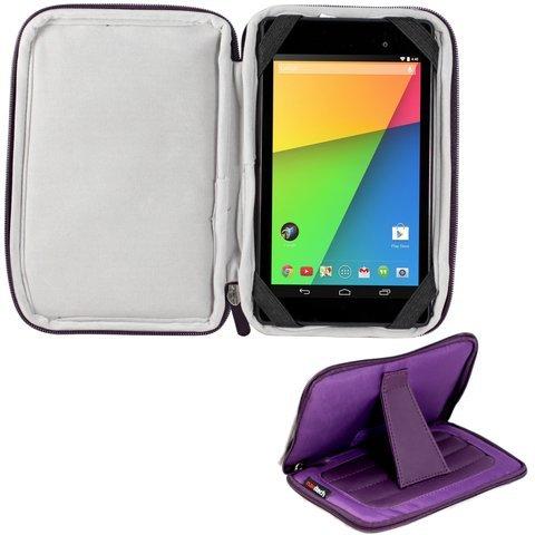 Navitech lilanes 7 Zoll Neoprene Case Cover Tasche mit Stand und Stylus Pen für das Huawei MediaPad X1 7.0 / MediaPad 7 lite/MediaPad 7 Vogue