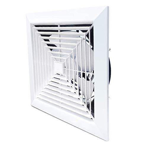 GFDFD Ventilatore in Metallo Booster Estrattore Ventilatore di Scarico Ventilazione di aspirazione Ventilatore per Tubi per Finestra per Bagno WC Cucina Home Office