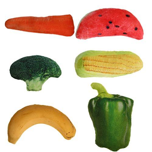 Balacoo 5 Unids Catnip Juguetes Vegetales Artificiales Friuts Juguetes Pet...