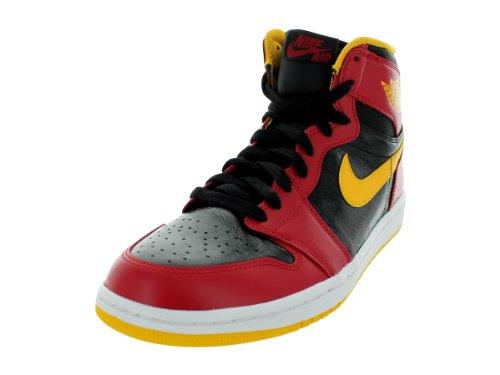 Nike Air Jordan 1 Retro High OG - Zapatillas altas de Sintético Hombre, color Rojo, talla 47