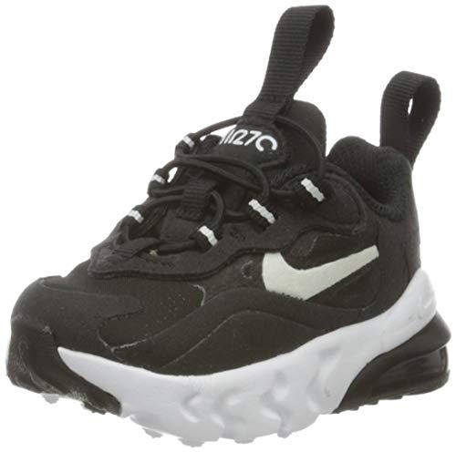 Nike Air MAX 270 RT TD, Zapatillas de Gimnasio Unisex Niños, Negro/Blanco, 34 EU