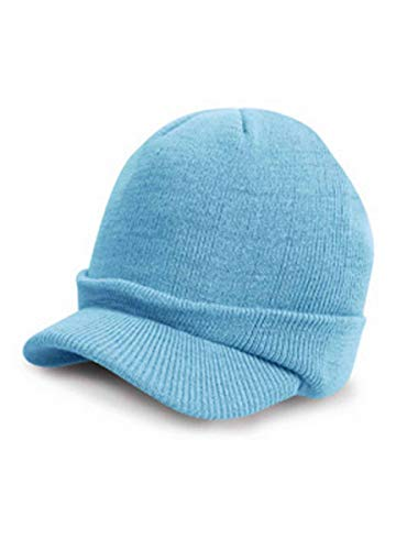 Result Rc060 Esco Army Bonnet tricoté Mixte, Bleu