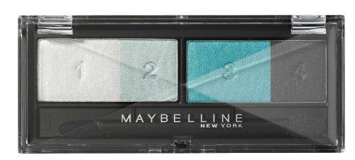 Maybelline New York Lidschatten Eyestudio Quattro Palette Vivid Plums 02 / Eyeshadow Set in Pflaumen-Rosa Tönen (inkl. Präzisions-Applikator) 1 x 5 g