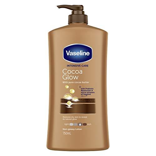 Vaseline Body Lotion Cocoa Glow, 750ml